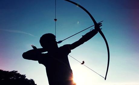 Prova di tiro con l'arco